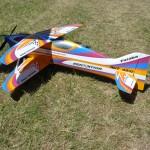 Gernotův Sensation ve velmi dobrých barvách (pilot L.Dietrich -Rakousko)